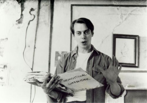 Steve Buscemi reads. (Awesome People Reading)