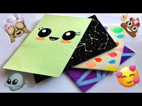 تزيين الدفاتر من الخارج الغلاف العودة للمدارس Back To School Youtube In 2020 Notebook Covers Bullet Journal Banner Easy Diy