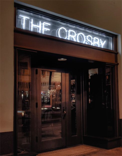 Our downstairs neighbors, the Crosby! Don't miss out on their awesome rotating chef's menu and happy hour deals!