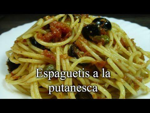 Recetas fáciles de Josean MG: Espaguetis a la putanesca
