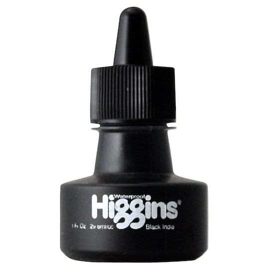 Higgins India Ink In Black Michaels India Ink Ink Dip Pen