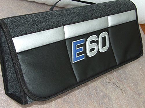 Original bMW e60 oNEKOOL à pochette de rangement pour coffre de rangement pour voiture noir pour tout original oNEKOOL car boot tidy…