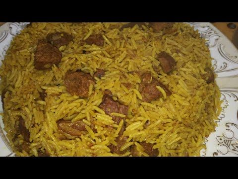 طريقة عمل الكبسه باللحمه على الطريقة السعوديه Youtube Cooking Recipes Recipes Cooking