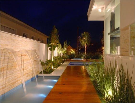 Cascatas para piscinas – veja modelos lindos   dicas!