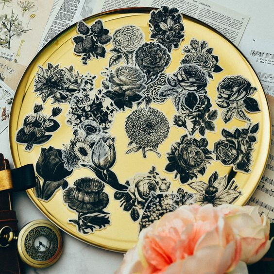 Find More Stickers Information about KSCRAFT Black Flower Stickers for Scrapbooking DIY Projects/Photo Album/Card Making Crafts,High Quality stickers for,China stickers for scrapbooking Suppliers, Cheap stickers stickers from KSCRAFT LOVERS Store on Aliexpress.com