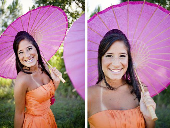 rosa + laranja = casamento Dyonne & Marcelo | Lápis de Noiva
