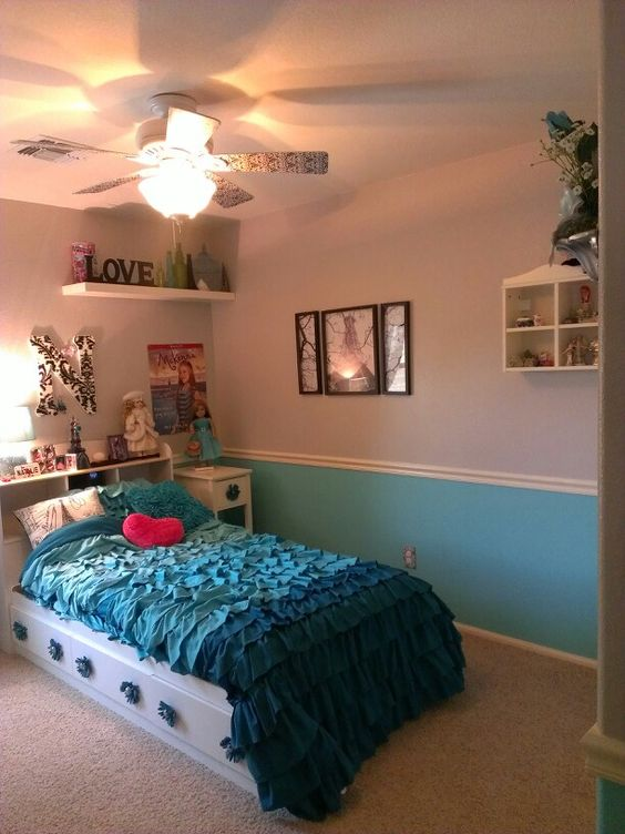 My Daughter's Tiffany Blue/silver-Paris Theme New Bedroom