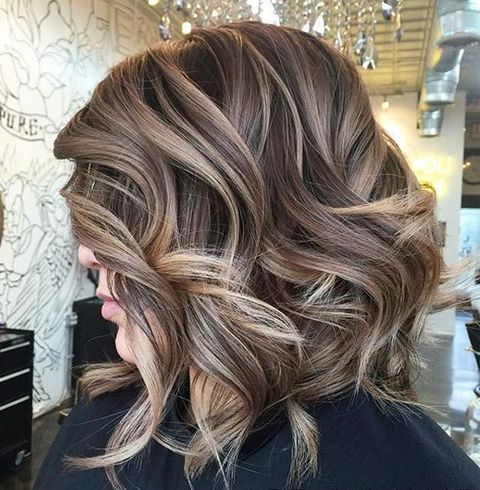 Latest Trends Balayage On Short Hair 2017