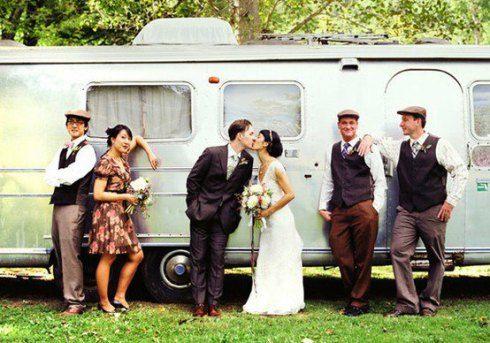 Airstream wedding