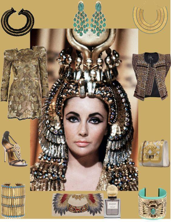 Cleopatra, created by sandrakrim on Polyvore