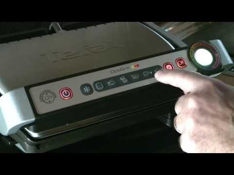 Tefal Gc702d Optigrill Fehler Manuelle Einstellung Youtube Kontaktgrill Rezepte Beilagen Zum Grillen Fisch Gegrillt