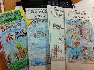 Love the season brochures as an end of unit assessment
