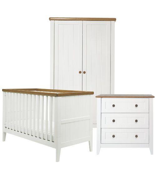 Mothercare Summer Oak Nursery Furniture Set - 1100 паÑ?нда Чакаме да го  намаляÑ?