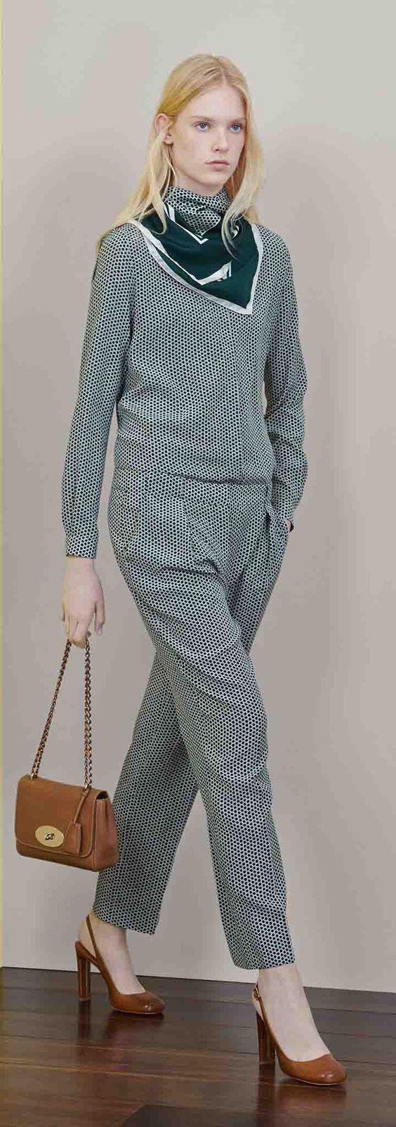 #Mulberry 2015 Resort Collection  #fashionshows #designerwear