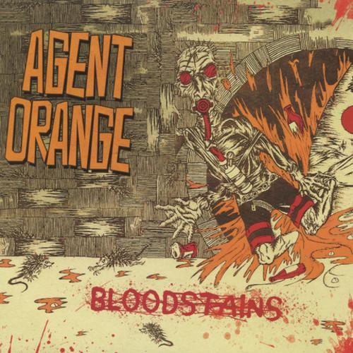 Agent Orange Bloodstains Colored Vinyl Lp Agent Orange Vinyl Lp Vinyl