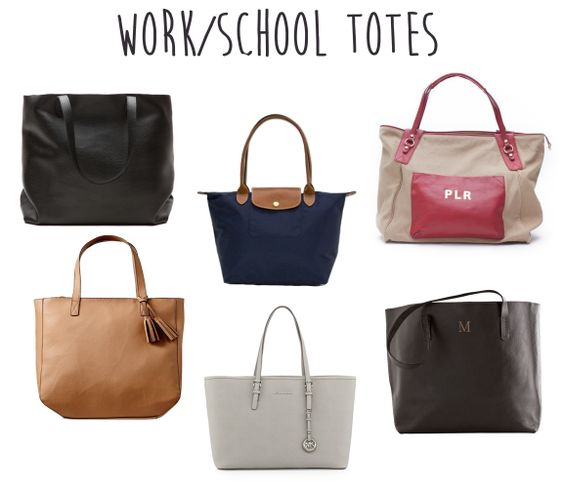 Work Totes that are cute and big enough for a laptop!