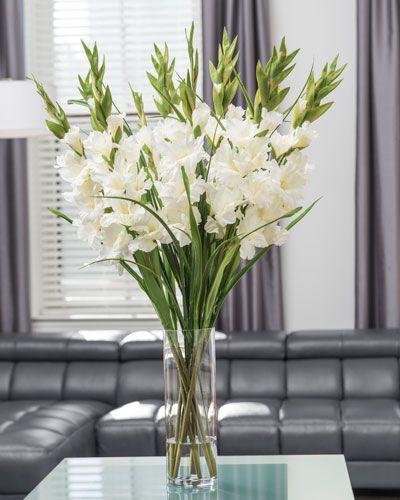 Gladiolussilk Flower Arrangement Large Wedding Flower Arrangements Large Flower Arrangements Gladiolus Arrangements