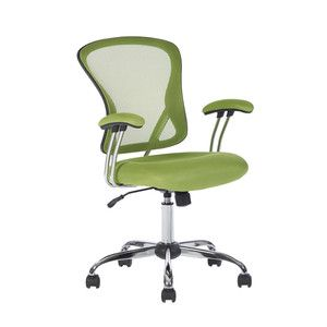 Hearts Attic Green High-Back Mesh Computer Chair - Great For Students Dorms Home Office