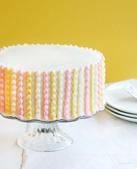 Easy (looking) cake decorating ideas