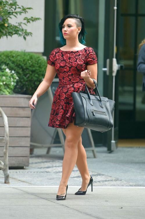 Demi Lovato street style