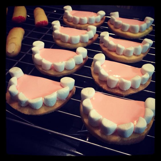 入れ歯クッキー