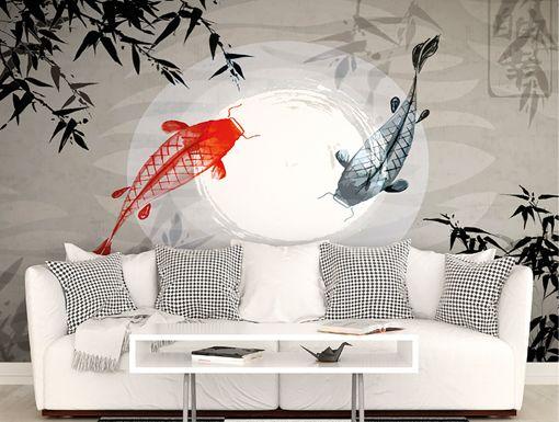 Wandar Wall Mural 9 Ft 10 In X 8 Ft 1 In Mural Wallpaper Wall Murals Japanese Room Decor Mural Wall Art