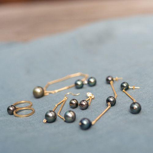 独占密着 Sinmeとブラックパール In タヒチ 特集 Jewelry タヒチ フィガロジャポン ブラック