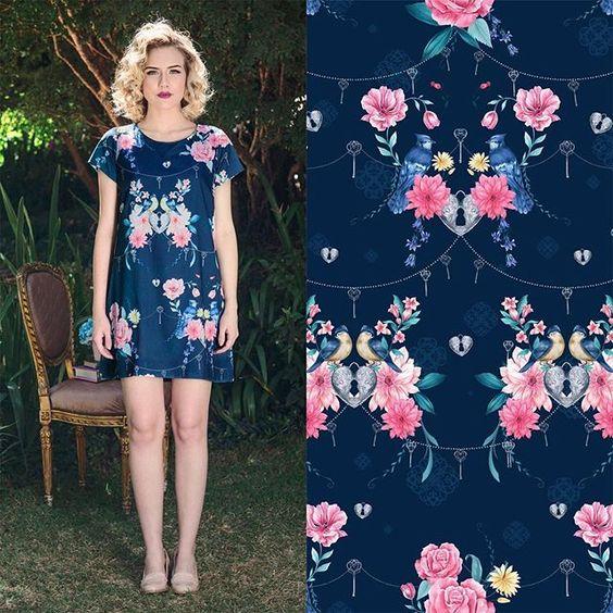 Vestido soltinho e confortável  Disponível nas lojas e também no site www.socute.com.br
