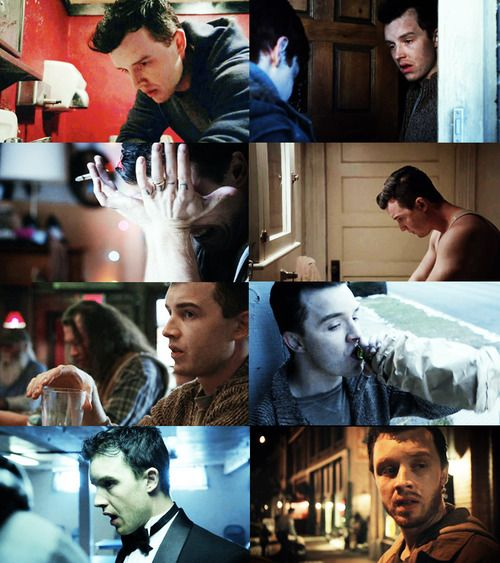 mickey milkovich/shameless. Slowly becoming one of my favorite characters of the show.