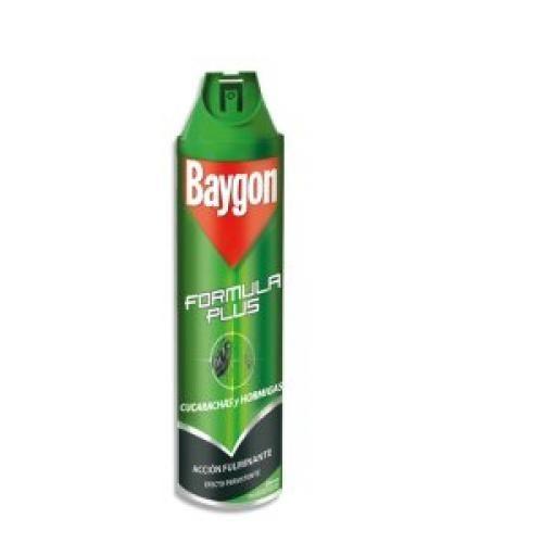 Baygon Spray Rastreros 600ml Insecticida Pececillo De Plata
