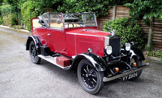 1931 Morris Cowley 11.9hp Tourer with Dickey