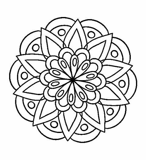 Mandalas Para Colorear Mandalas Para Colorear Mandalas Imprimir