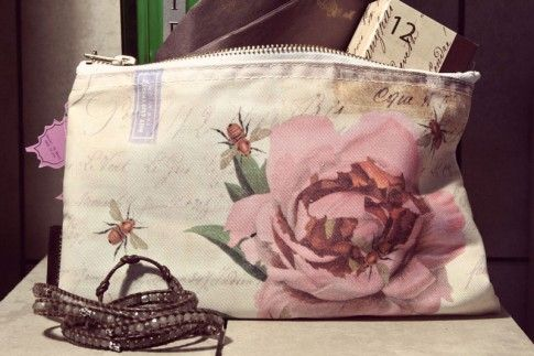 Tokyo Milk Rose With Bees Cosmetic Bag available from No.31.