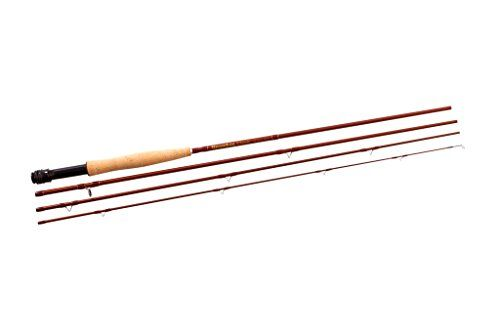 Snowbee Classic 7 8 4 Piece Fly Rod Hazel Brown 10 Ft Fast Action Blanks Generate High Line Speed For Maximum Casting Dista Fly Rods Combo Kit Fly Reels