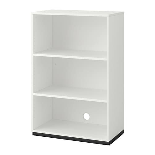 Galant Shelf Unit White With 17 Deep Shelves Shelves Shelf Unit Ikea Galant