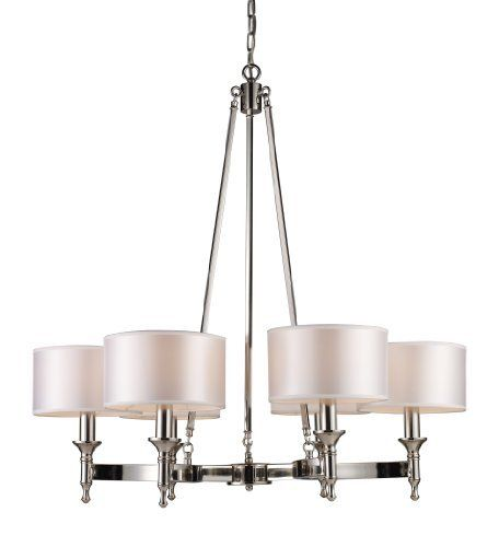 Elk 10123/6 Pembroke 6-Light Chandelier In Polished Nickel by ELK Lighting, http://www.amazon.ca/dp/B004HX30PI/ref=cm_sw_r_pi_dp_Qzrjtb1A9G315