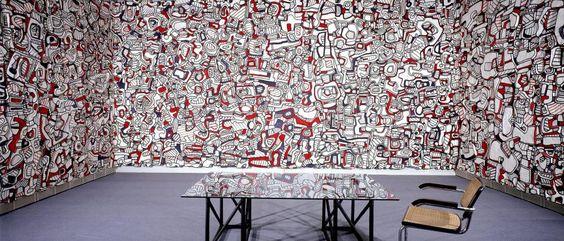©Fondation Dubuffet / A.D.A.G.P, Paris  http://www.pinterest.com/trangng/jean-dubuffet/