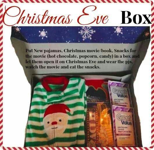 Wondrous Christmas Eve Box Christmas Traditions And Christmas Eve On Pinterest Easy Diy Christmas Decorations Tissureus