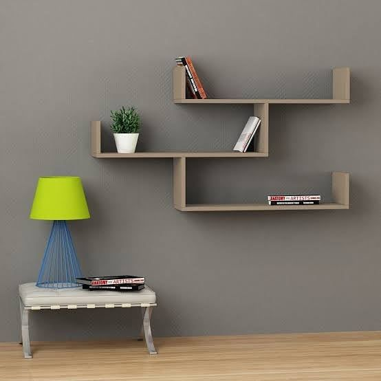 Modern Wall Shelving Unit Dm For Price Size 600 X 250 Mm Each All Colours Available We Undertake Re Modern Wall Shelf Unique Wall Shelves Oak Wall Shelves