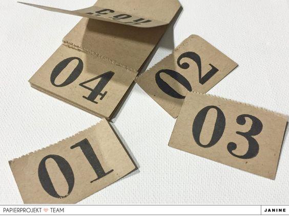 PAPIERPROJEKT Blog - Countdown Abreißkalender