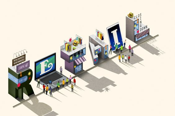 """FORTUNE MAG / ARTICLE / """"Where are  all the #shoppers gone"""" #retail #problems #solutions #LessDiscounts #SmallerShops #HyperLocal #convenience #uniqueness #BuyingExperience #InnovativeProducts #clickandcollect #OmniChannel #trend"""