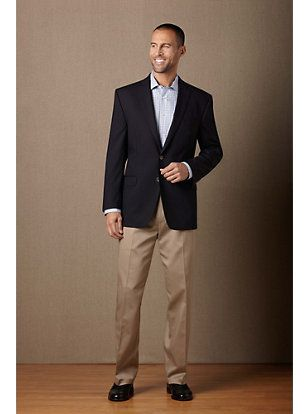 Men's Wearhouse - Grooms Blazer & Khaki Pants Austin Reed Jacket