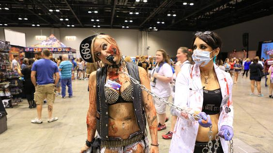 Crowds turn out for Walker Stalker Con at the Convention Center