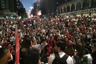 Pregopontocom Tudo: Em São Paulo, manifestantes protestam contra governo Temer...