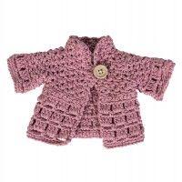 Puppenkleidung, Jacke, pink