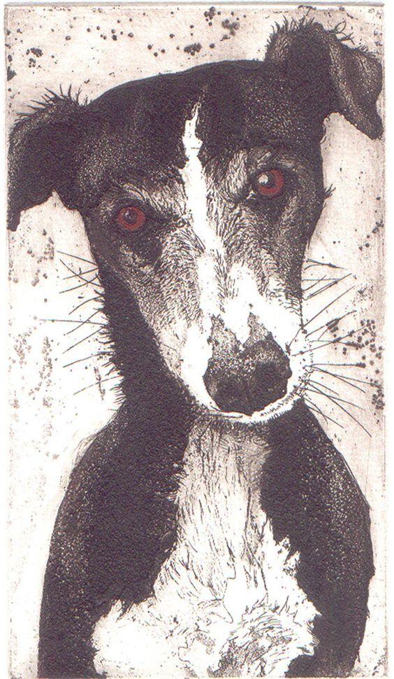 Julia Manning | Somerset Artist & Printmaker| He's lovely!: