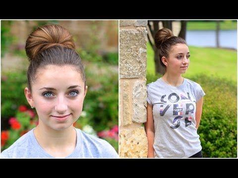 Doppel Brotchen Frisur Youtube Neue Frisuren Susse Madchenfrisuren Haar Styling Frisur Hochgesteckt