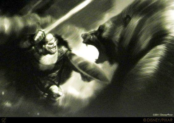 The Art of Brave: 60 Original Concept Art - Daily Art, Movie Art