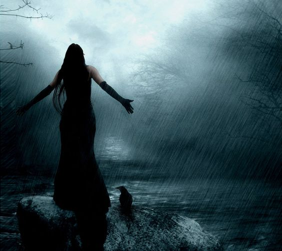 Lonely Girl in Rain | Lonely Girl In Rain Drawing And draw ...
