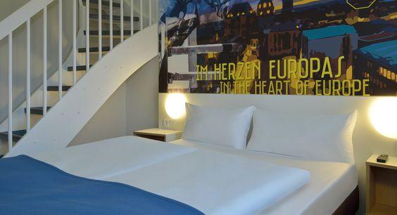 Familienzimmer im B&B Hotel Aachen-Würselen